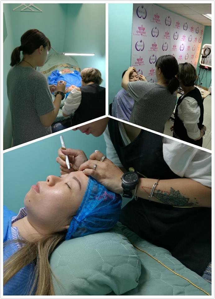 USA Biotouch Representative Asia Joey Semi Permanent Makeup course 1