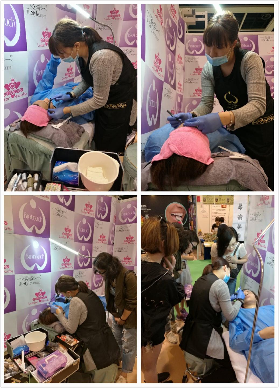 USA Biotouch Representative Asia Joey Semi Permanent Makeup course 3