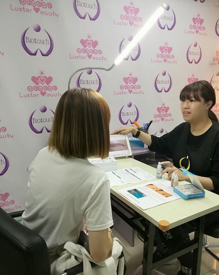 USA Biotouch Representative Asia Joey Semi Permanent Makeup course 5