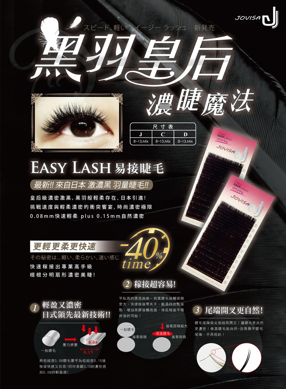 Jovisa Royale Easy Lashes