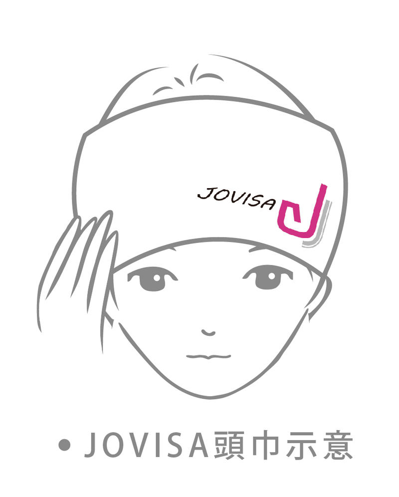 JOVISA EYELASHES EXTENSION TOWEL