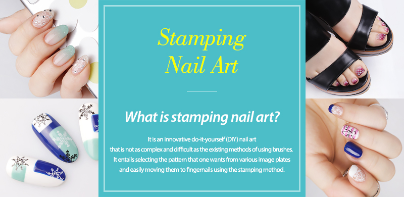 SOUTH KOREA KONAD STAMPING NAIL ART