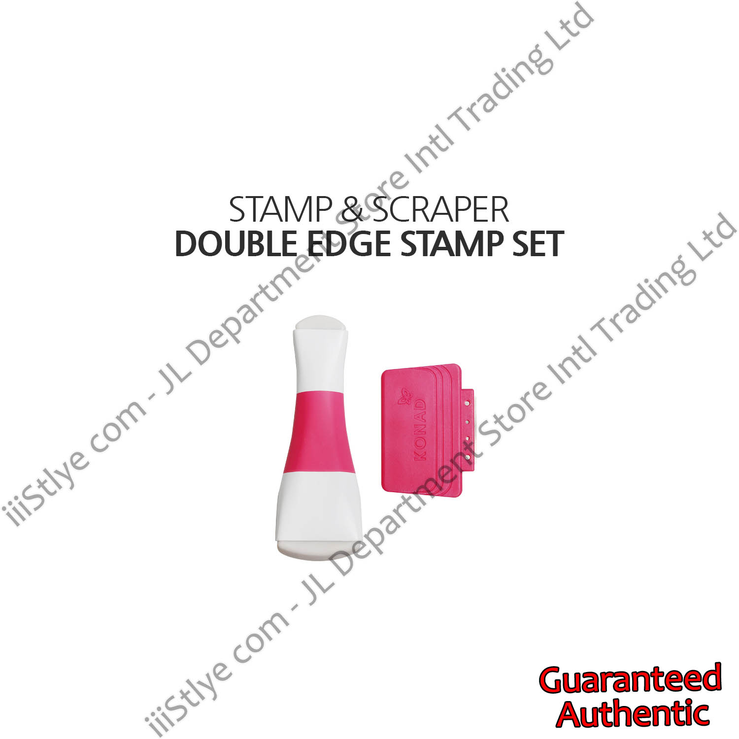 double edge stamp set