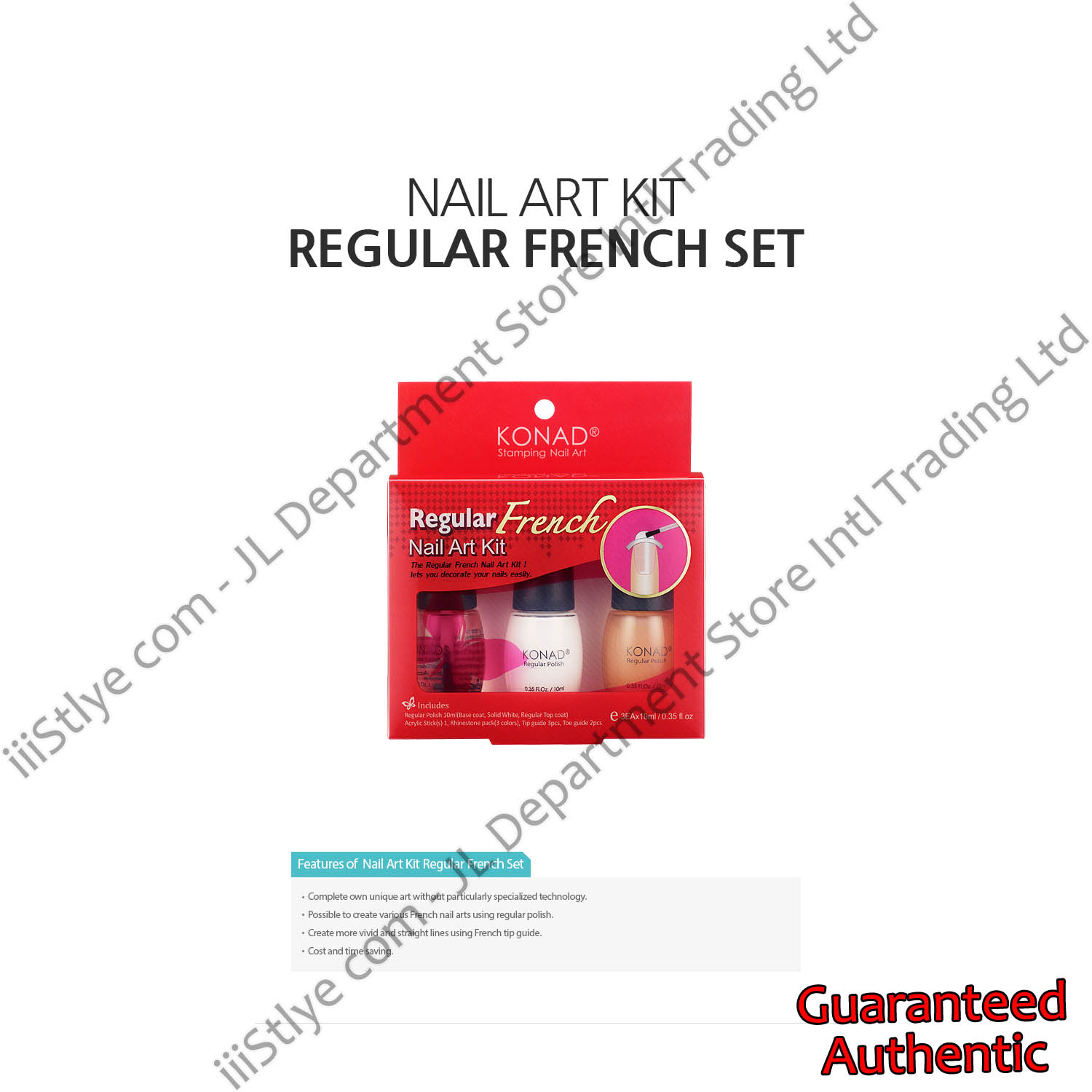 regular french set