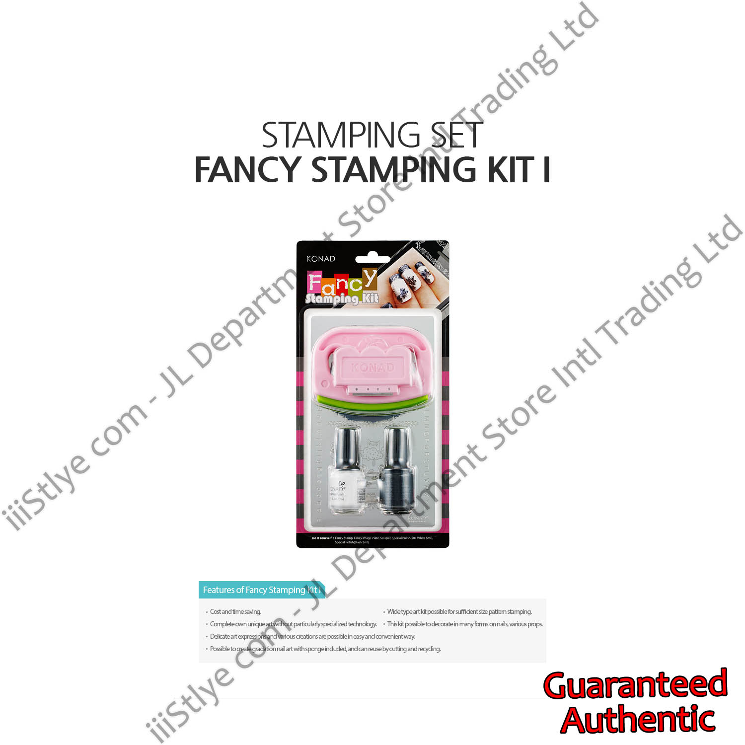 stamping set fancy stamping kit I