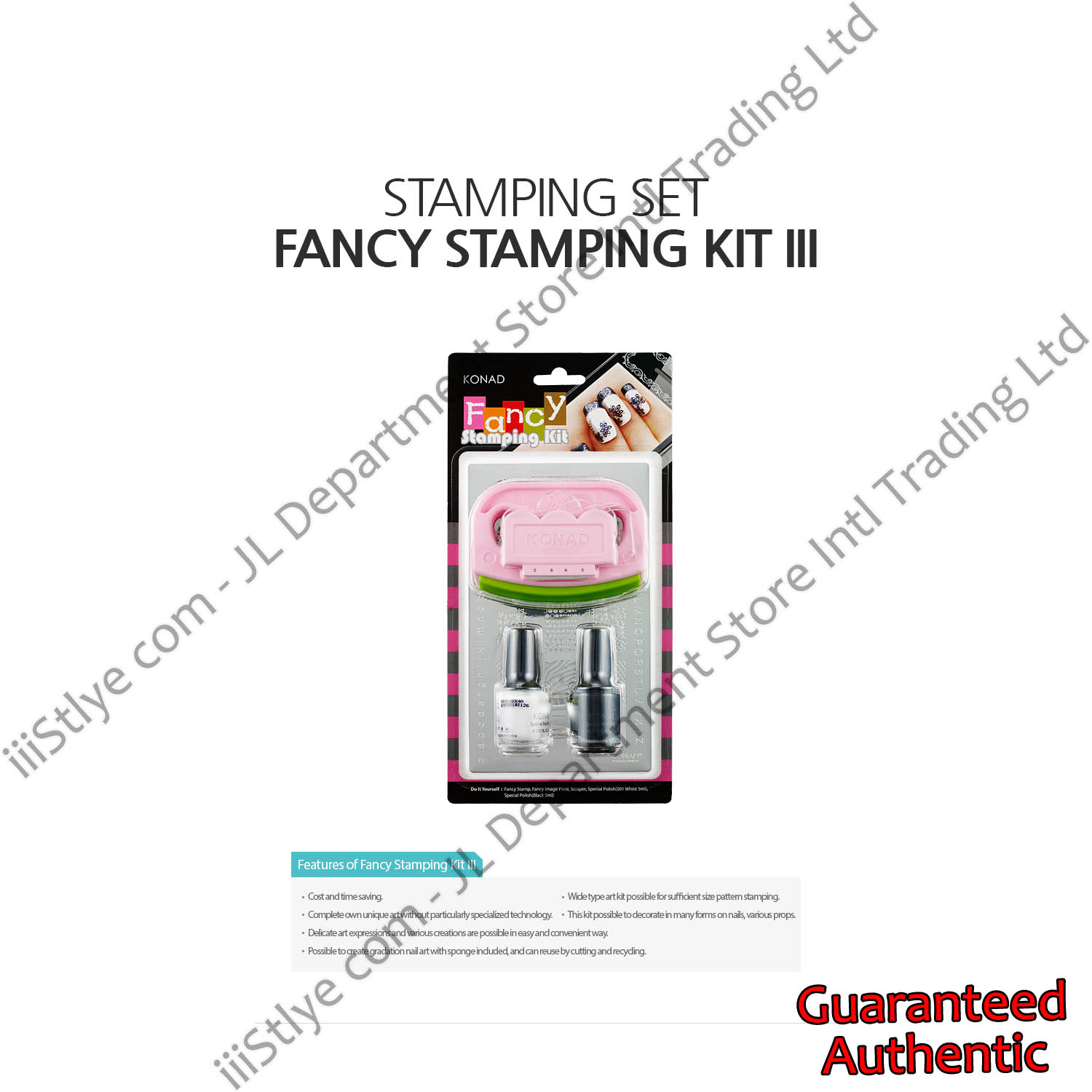 stamping set fancy stamping kit III