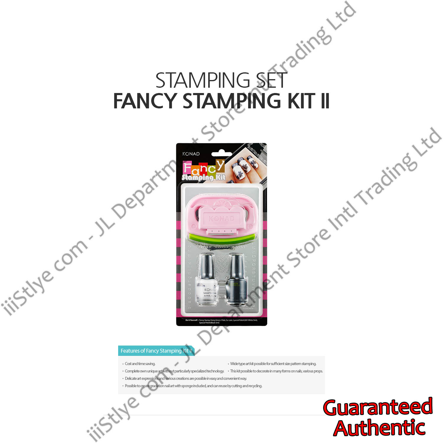 stamping set fancy stamping kitII