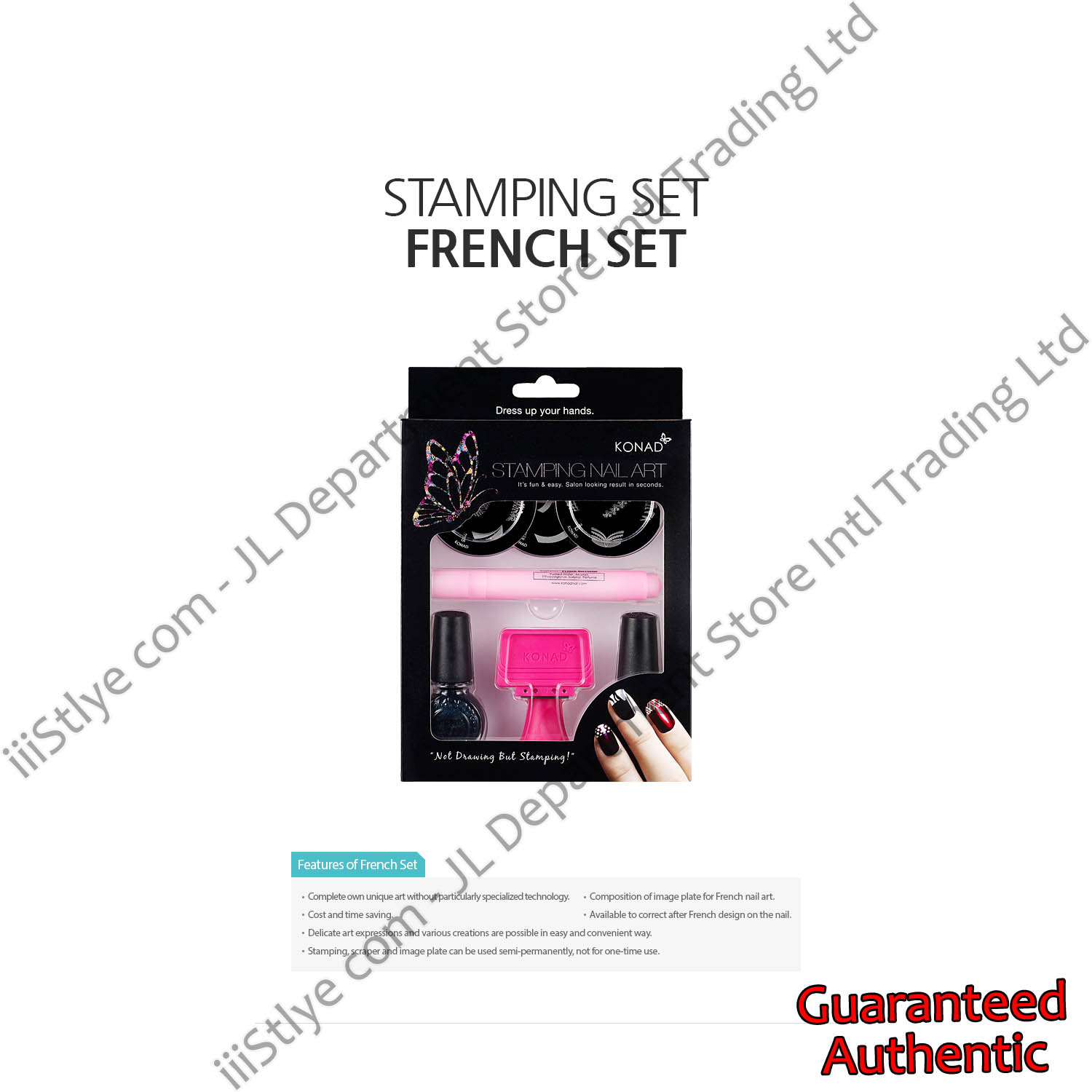 stamping set french set