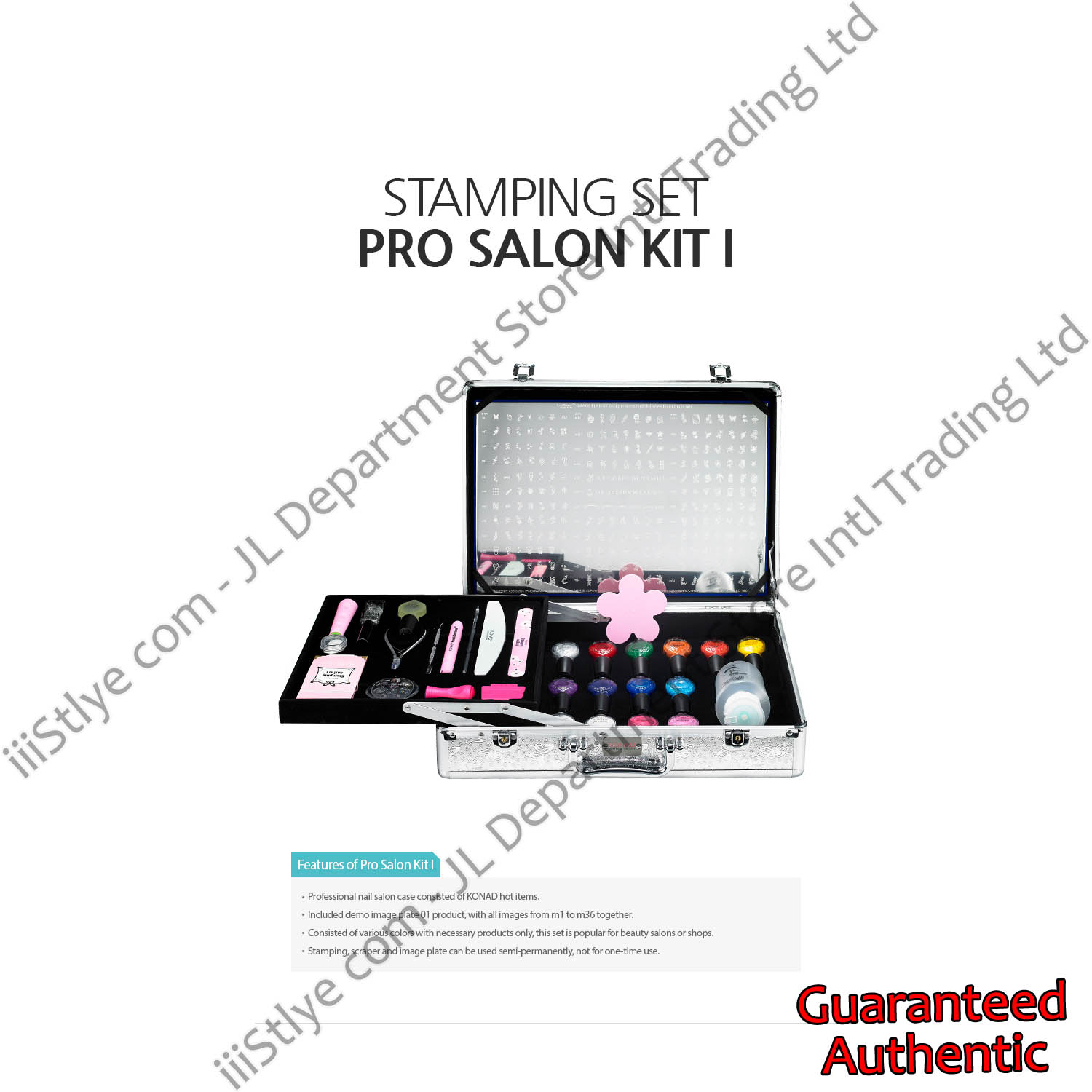 stamping set pro salon kit I