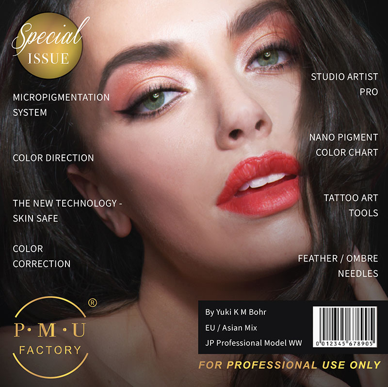 usa pmu factory special issue semi permanent makeup microblading ombre combination artist pro international